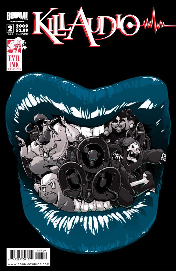 KillAudio_02_2ndPrint ComicList: BOOM! Studios for 12/03/2009