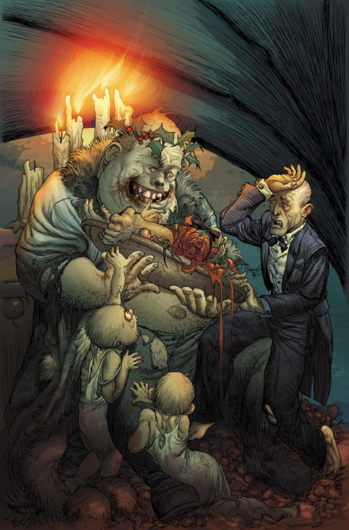 MARVELZOMBIESCHRISTMASCAROL_3_cover Darkness is cheap and the MARVEL ZOMBIES CHRISTMAS CAROL likes it