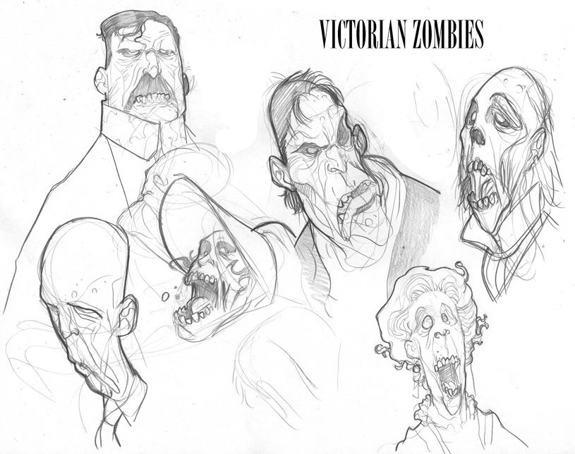 MARVELZOMBIESCHRISTMASCAROL_Preview1 Darkness is cheap and the MARVEL ZOMBIES CHRISTMAS CAROL likes it