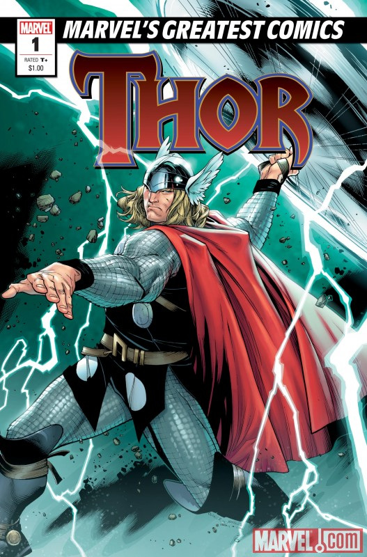 MGC_Thor01 Marvel's Greatest Comics imprint to sell for $1.00 each