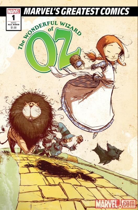 MGC_WonderfulWizardOfOz01 Marvel's Greatest Comics imprint to sell for $1.00 each