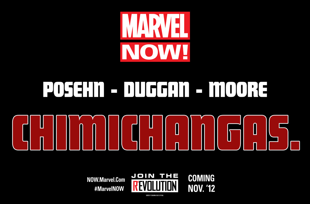 MarvelNow_Posehn_Duggan_Moore_Chimichangas The Lightning fast future of Marvel NOW!