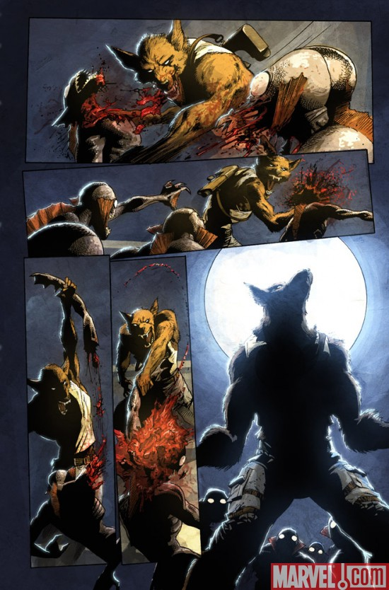 MarvelZombies_4_01_Preview3 Marvel Zombies 4 #1 Preview
