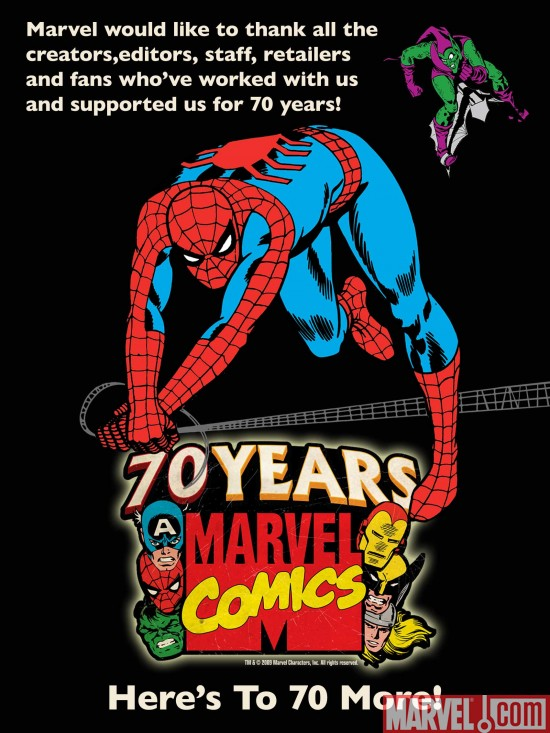 Marvel_70th_party Marvel Thanks Retailers And Fans For An Unforgettable 70th Anniversary