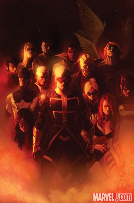 MightyAvengers_31_Cover Preview Mighty Avengers issue 31, featuring The Unspoken