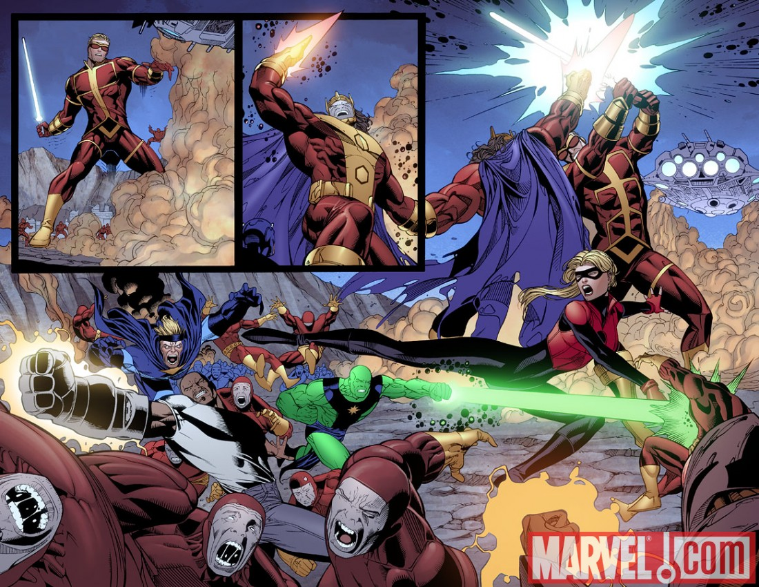 MightyAvengers_31_Preview3 Preview Mighty Avengers issue 31, featuring The Unspoken