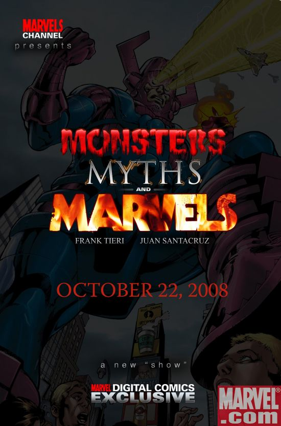 MonstersMythsMarvels_Cover Marvel Announces New Online-Only Titles For Digital Comics Exclusives Program