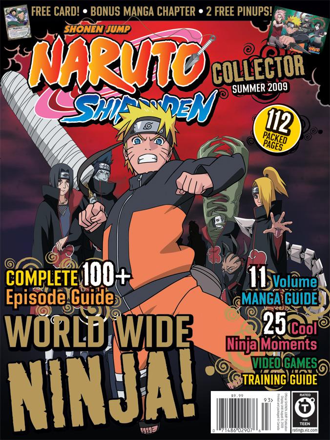 NarutoShippudenCollector_COVER__FINAL VIZ Announces NARUTO Shippuden COLLECTOR for Summer 2009