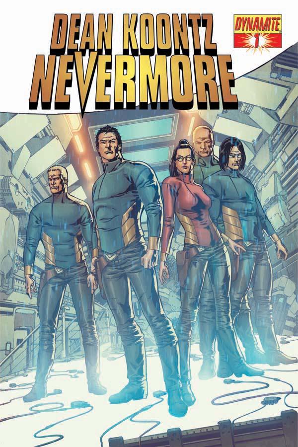 Nevermore01-Cov-Carvalho Fan-favorite Nevermore comic book series coming March 2011