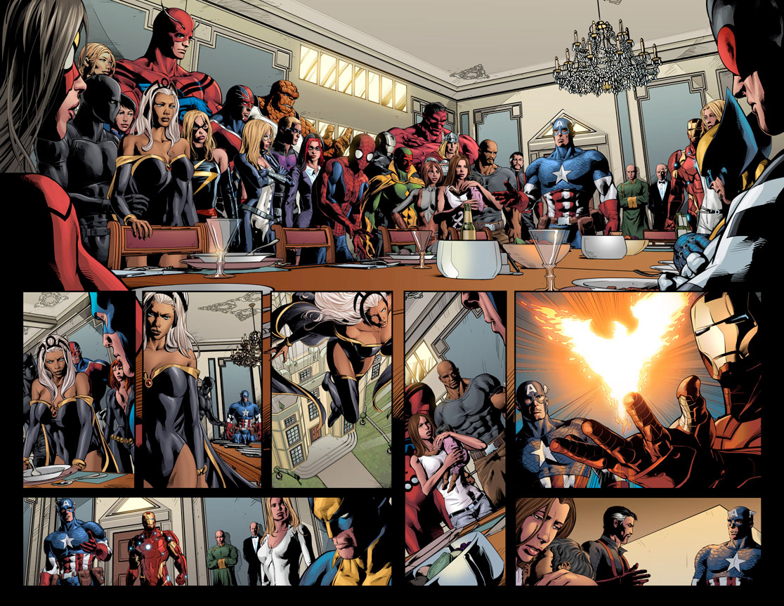 NewAvengers_24_Preview3 First Look at NEW AVENGERS #24