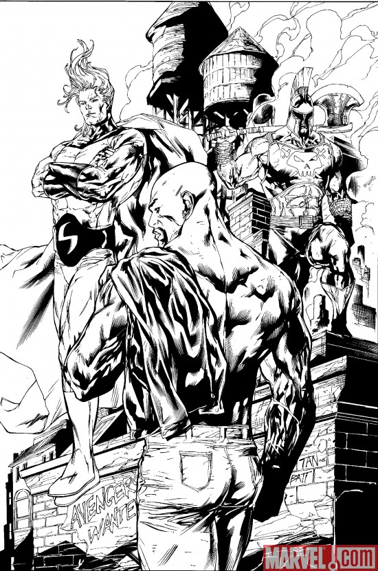 NewAvengers_49_SecondPrinting Dark Reign Tie-Ins Continue To Return With New Printings