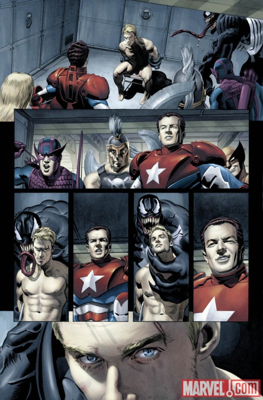 NewAvengers_Annual_03_Preview2 Can the New Avengers rescue Hawkeye from the Dark Avengers?