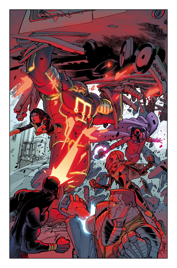 NewMutants_29_Preview1 First Look at NEW MUTANTS #29