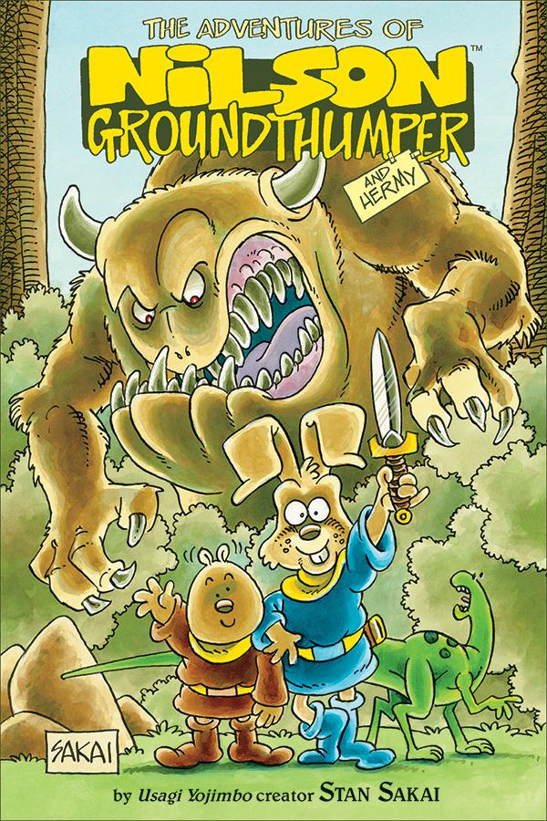 Nilson-Groundthumber-Cover Stan Sakai brings his pre-Usagi rabbit to Dark Horse