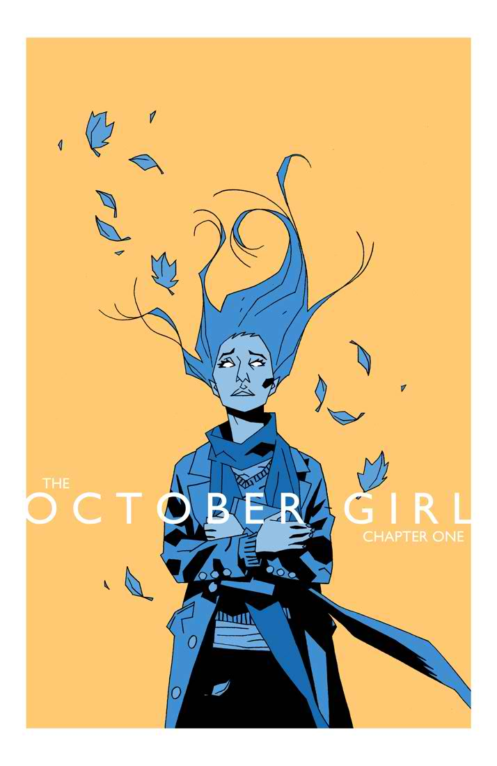 October_Girl_cover1 MonkeyBrain Comics signs digital deal with comiXology