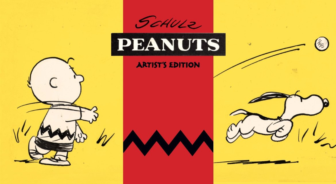 Peanuts_cover_1 Charles Schulz's Peanuts to join IDW's Artist's Edition library