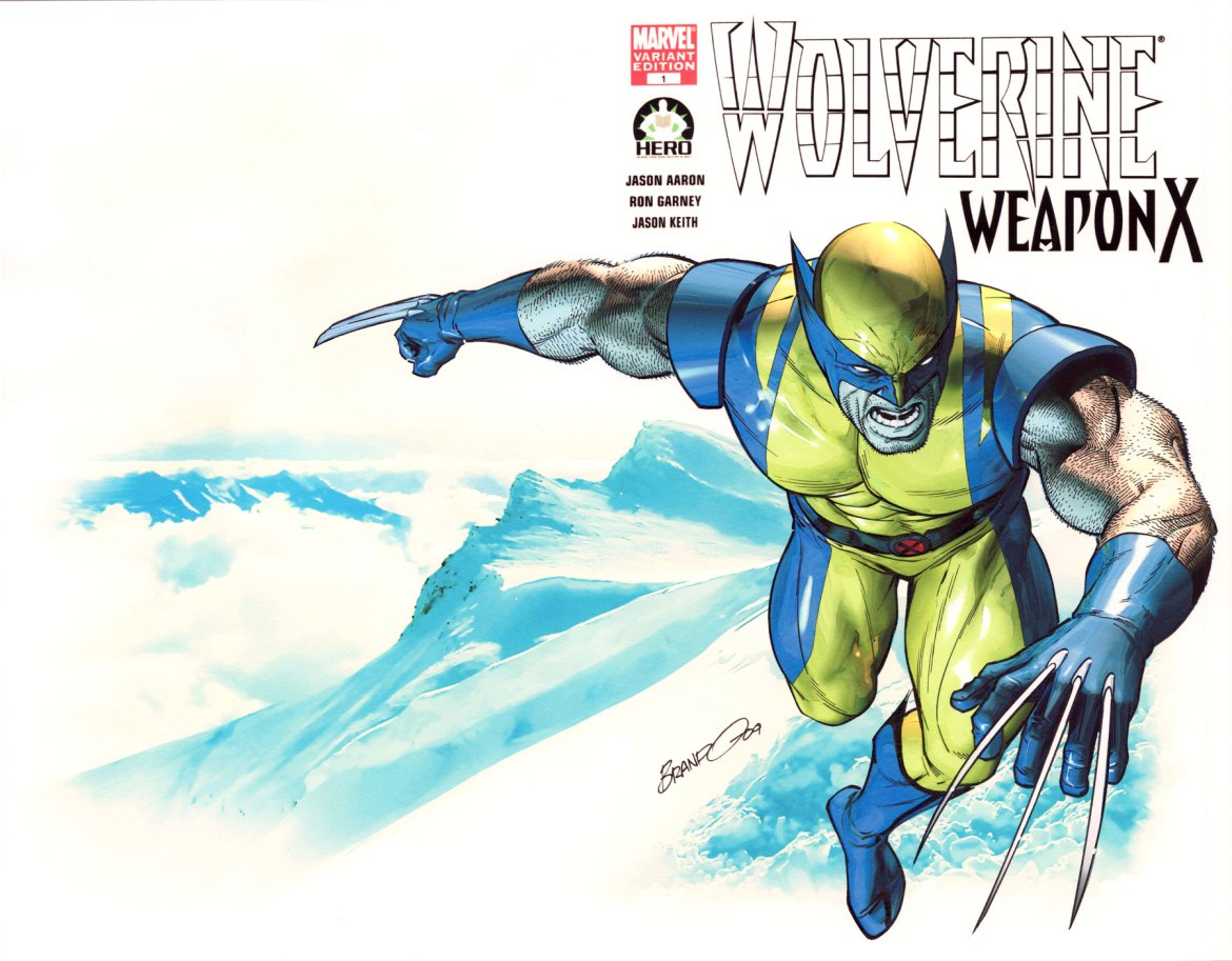 Peterson_Wolvierine Hero Initiative and Marvel Launch The Wolverine 100 Project