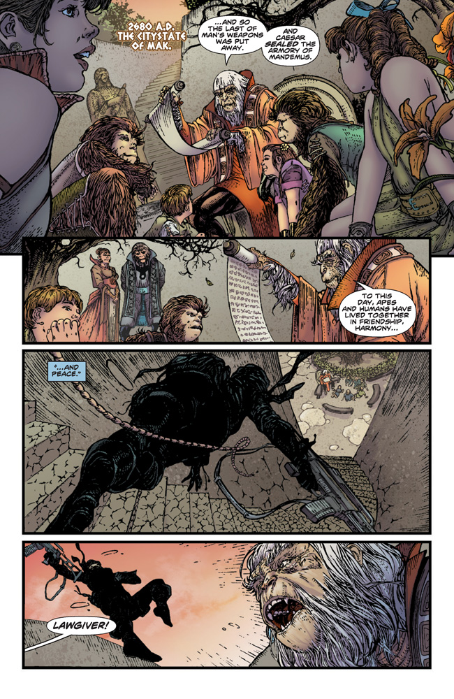 PlanetOfTheApes_01_Preview_Page_01 PLANET OF THE APES #1 earns 2nd printing