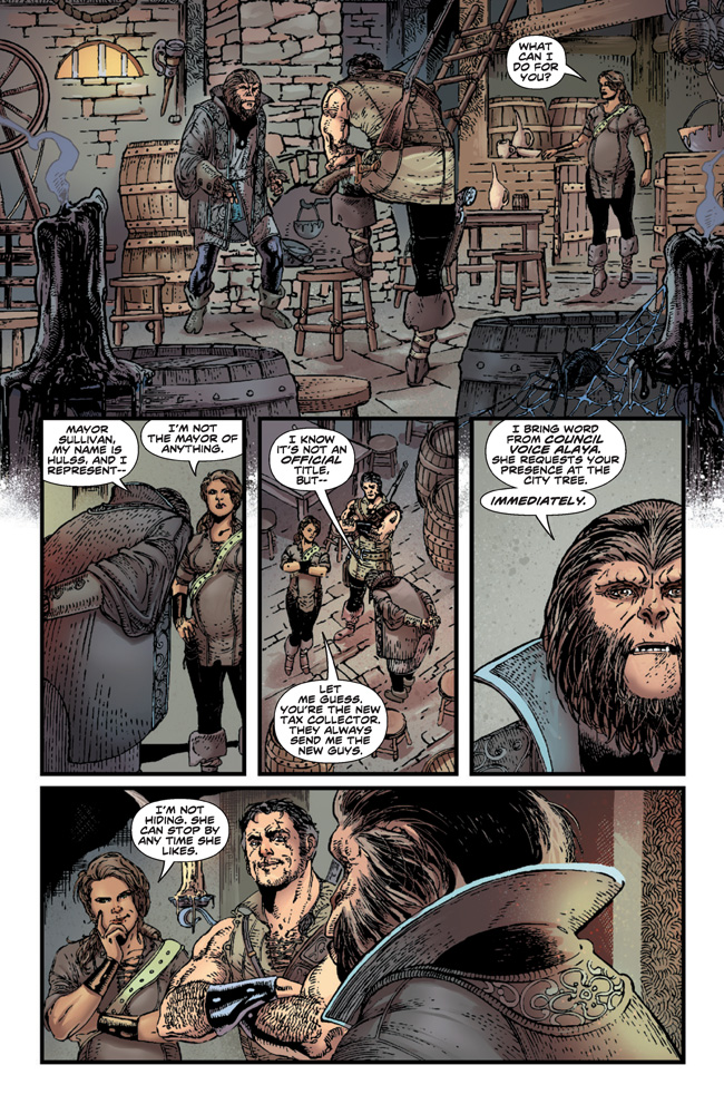 PlanetOfTheApes_01_Preview_Page_07 PLANET OF THE APES #1 earns 2nd printing
