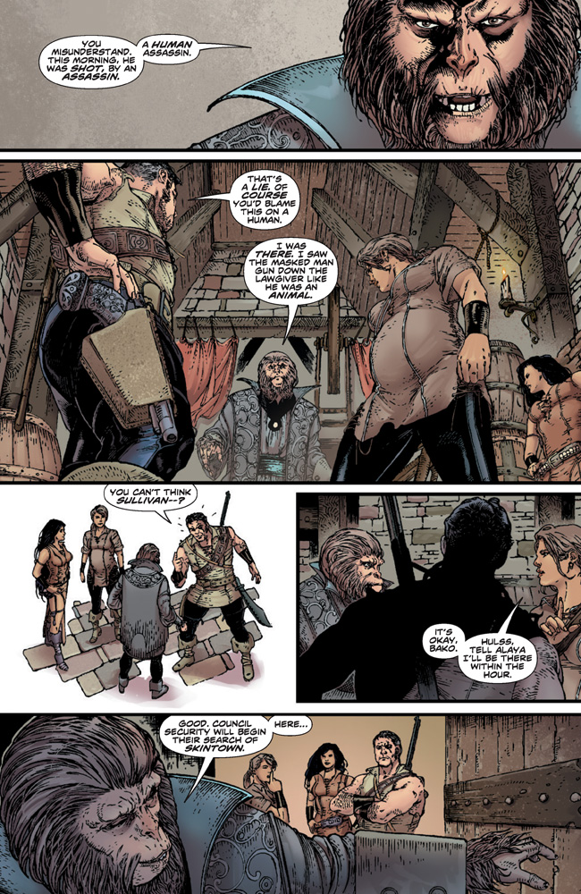 PlanetOfTheApes_01_Preview_Page_09 PLANET OF THE APES #1 earns 2nd printing