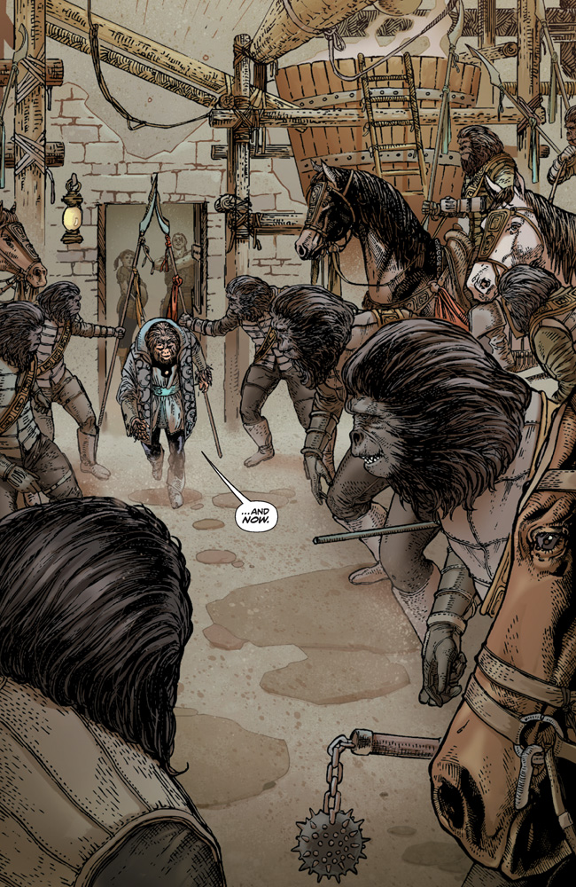 PlanetOfTheApes_01_Preview_Page_10 PLANET OF THE APES #1 earns 2nd printing