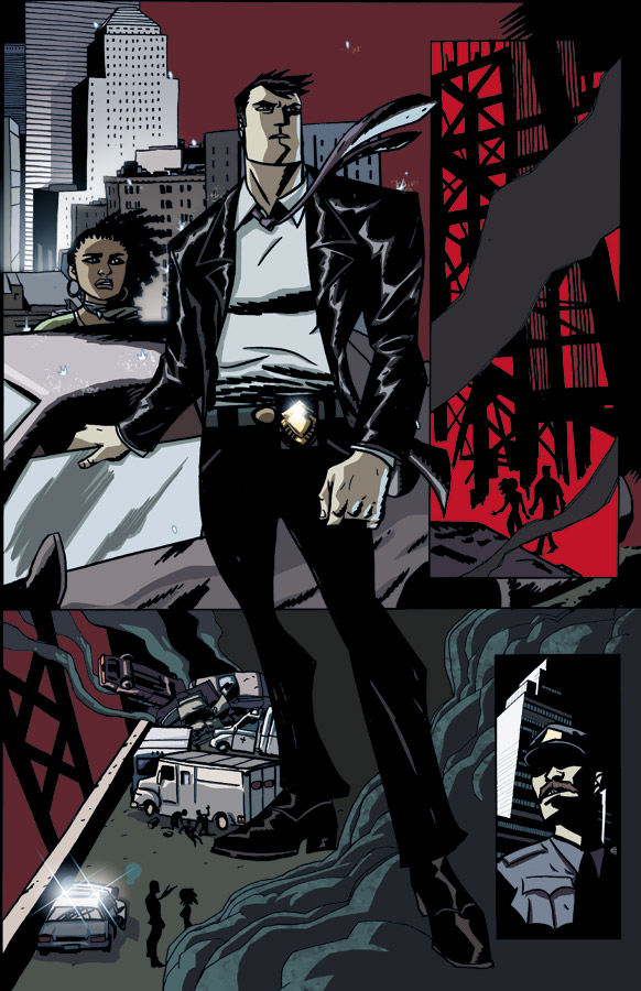 Powers_01_Preview2 Bendis and Oeming's Powers returns with all new series