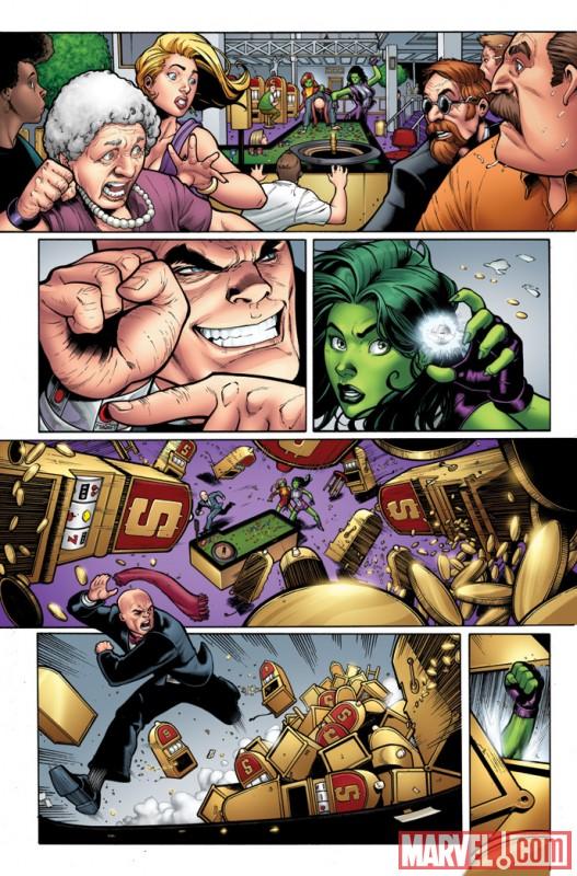 SHEHULKS_1_Preview2 Marvel Announces SHE-HULKS #1