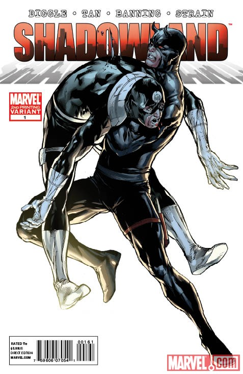 SHLAND_1_2ndBullseye SHADOWLAND #1 sells out, gets 2 second printing covers