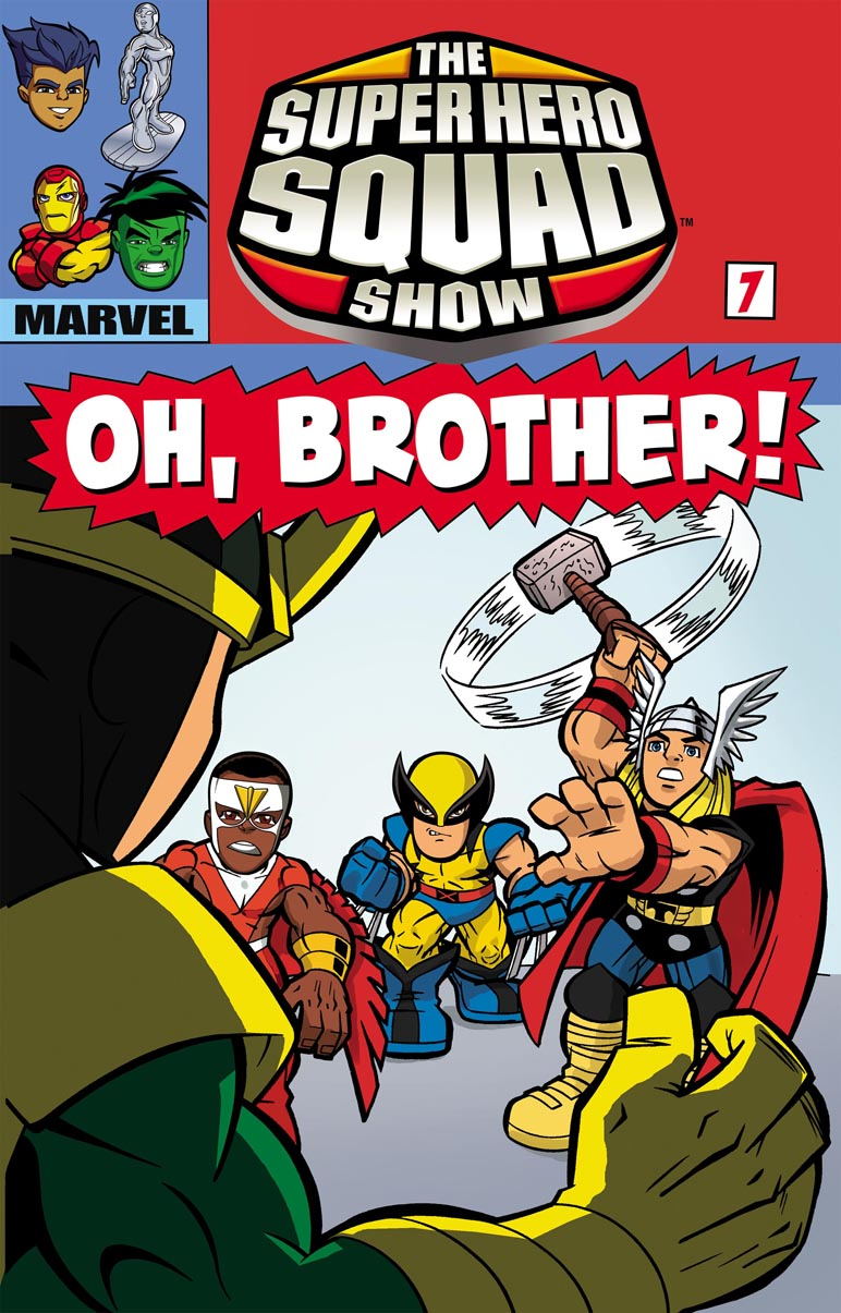 SHS_Ep07_TitleCard Oh Thor, Where Art Thou On The Super Hero Squad Show?