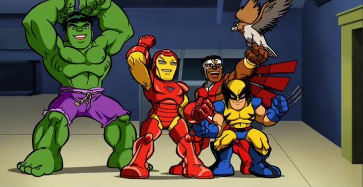 SHS_Primetime Super Hero Squad Show Moves To Primetime on Cartoon Network