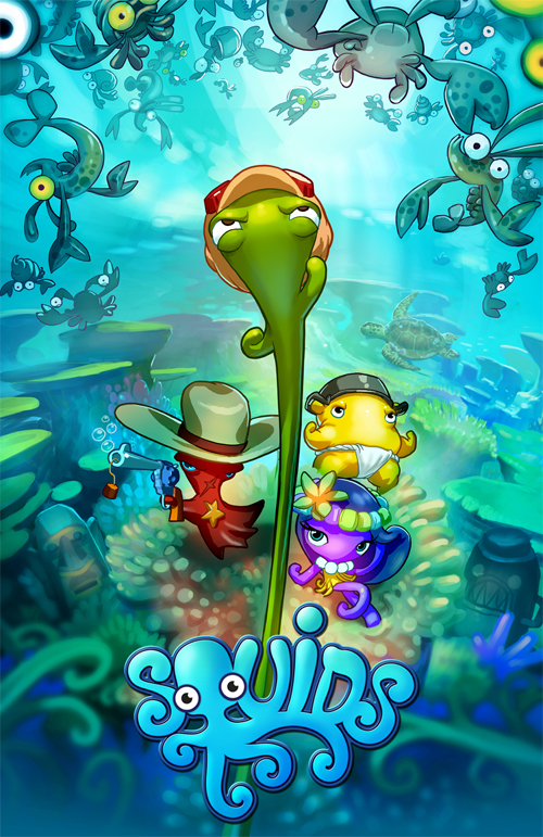 SQUIDS Ape Entertainment to develop series based on SQUIDS Mobile Games