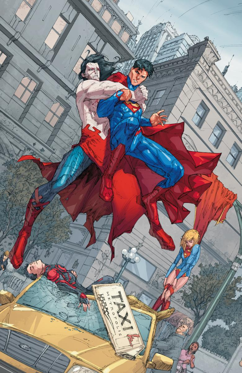 SUPERMAN_14 Superman and family face H'EL ON EARTH this November