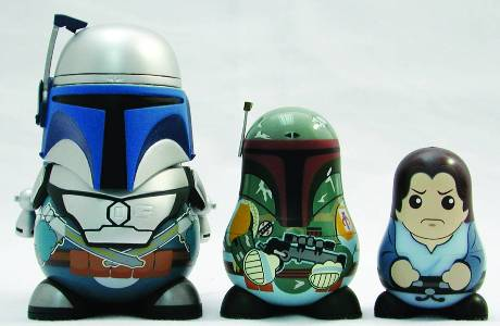 SWChubbyFettfigures Star Wars Chubby Series 2 Figures Lead April-Solicited PREVIEWS Exclusives