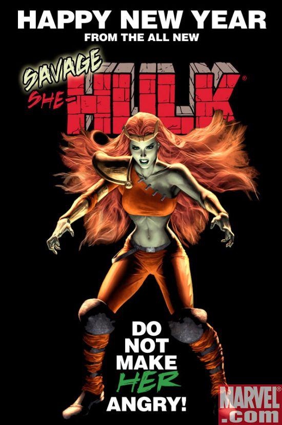 Savae_She-Hulk Happy New Year from the All-New Savage She-Hulk