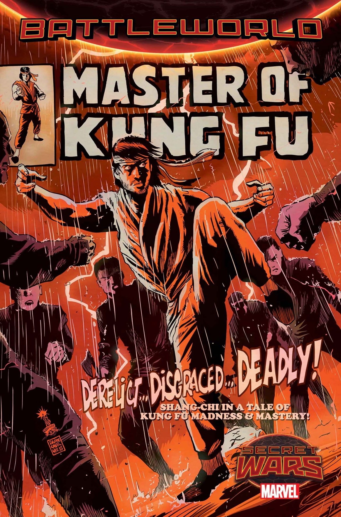 Secret_Wars_MASTER_OF_KUNG_FU SECRET WARS launches the contest to become MASTER OF KUNG-FU