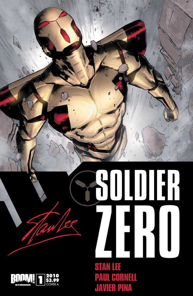 SoldierZero_CVRA All 7 STAN LEE'S SOLDIER ZERO #1 covers revealed