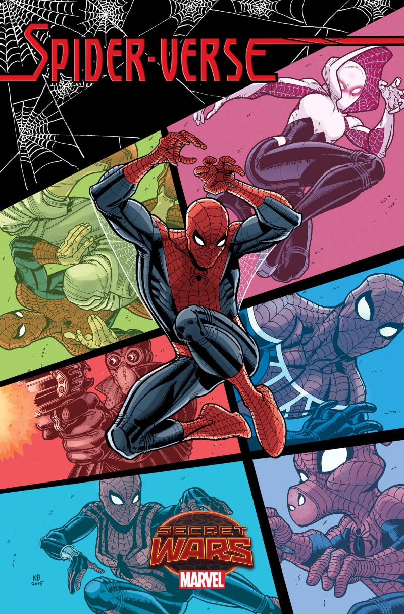 Spider-Verse_1_Cover The SPIDER-VERSE returns this May courtesy of SECRET WARS