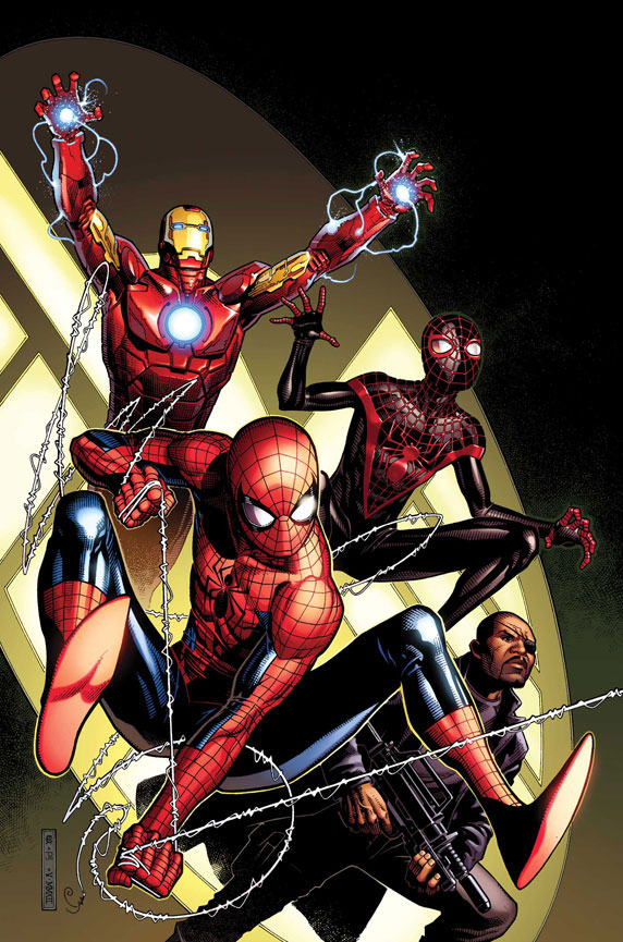 SpiderMen_5_Cover First Look at SPIDER-MEN #5