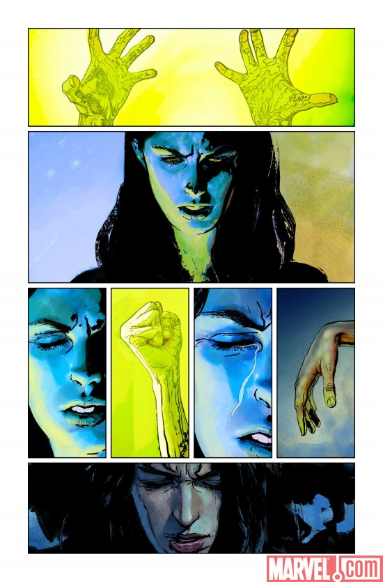 SpiderWoman_01_Preview3 Preview Spider-Woman #1