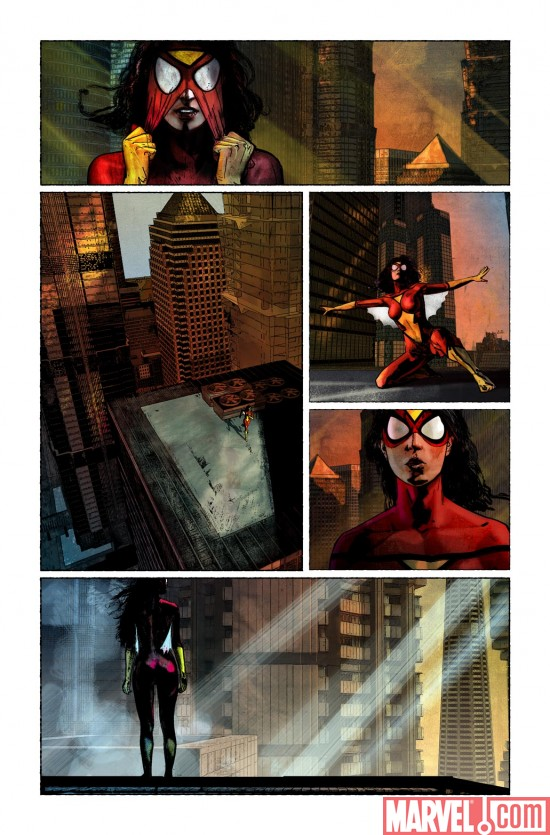 SpiderWoman_01_Preview5 Preview Spider-Woman #1