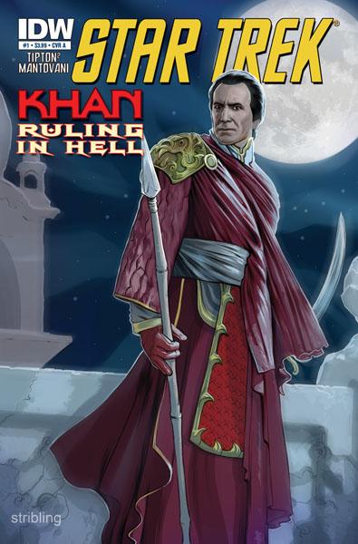 StarTrek_Kahn_RulinginHell01_covA IDW announces first comic based on Star Trek's KHAN