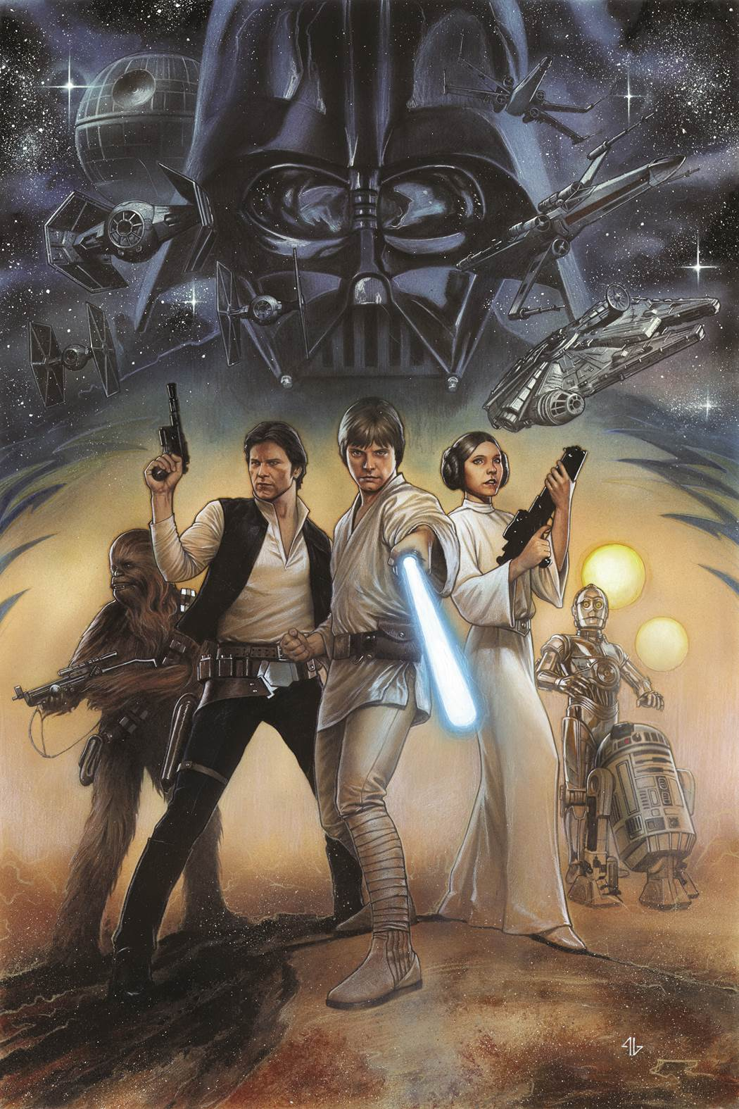 Star_Wars_Episode_IV_OGN-HC_Cover_Granov Marvel announces remastered STAR WARS graphic novels