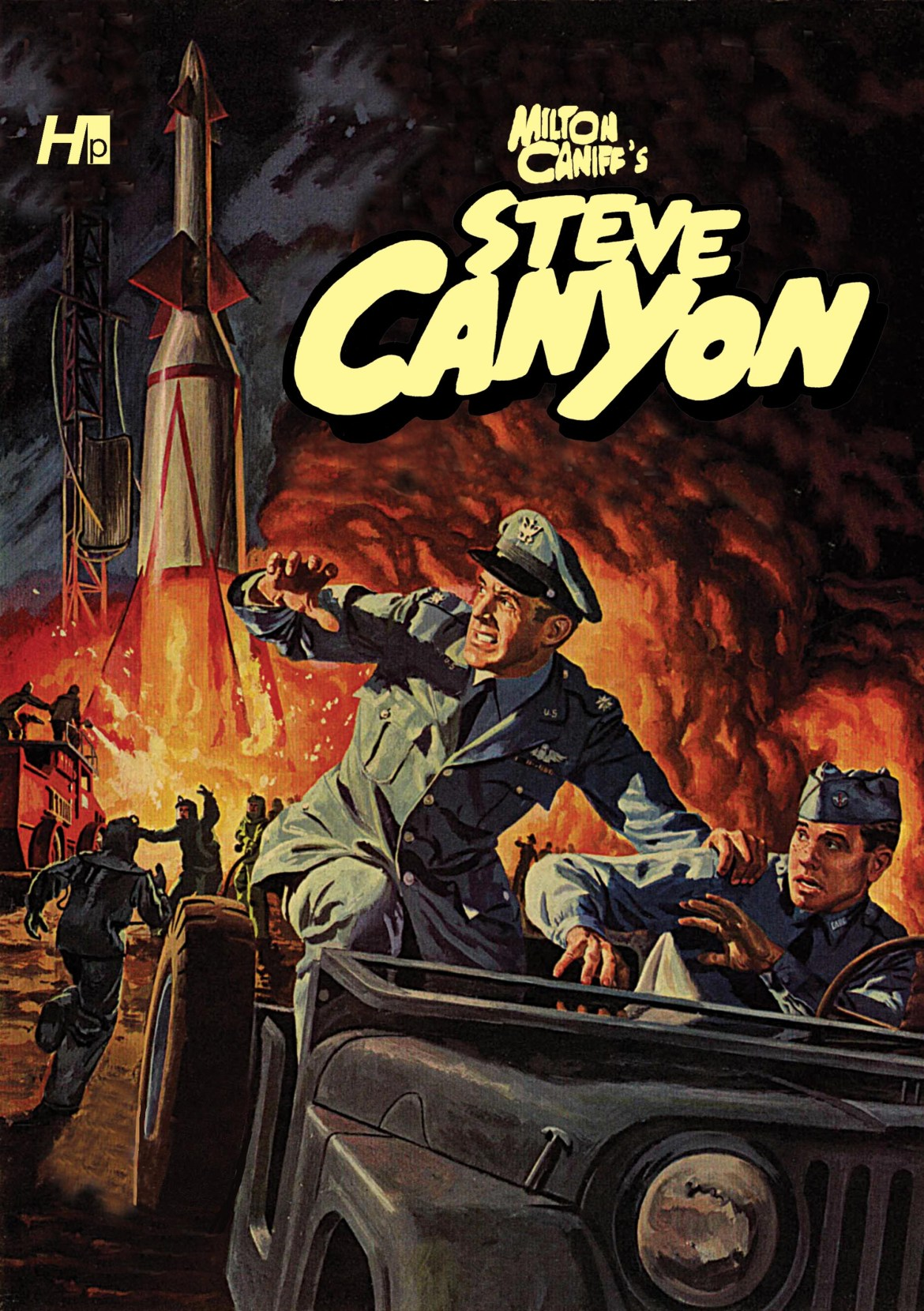 SteveCanyonpromocoversmall Steve Canyon added to the Hermes Press line-up