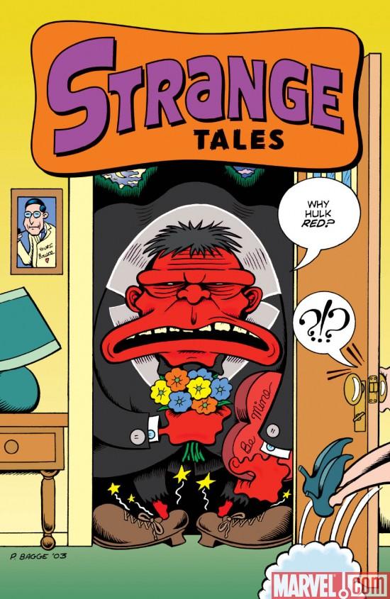 StrangeTales_02_RedHulkCover Marvel Comics Unveils Covers To STRANGE TALES #2