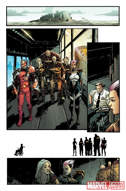 TBOLTS_148_PREVIEW1 Luke Cage enters Shadowland in THUNDERBOLTS #148