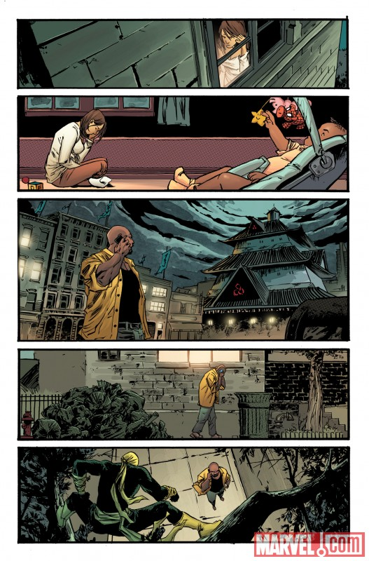 TBOLTS_148_PREVIEW2 Luke Cage enters Shadowland in THUNDERBOLTS #148