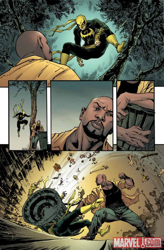 TBOLTS_148_PREVIEW3 Luke Cage enters Shadowland in THUNDERBOLTS #148