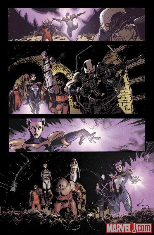 TBOLTS_148_PREVIEW5 Luke Cage enters Shadowland in THUNDERBOLTS #148