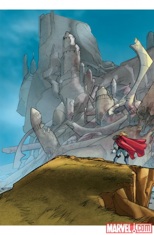 THOR_615_PREVIEW1 New Look at Matt Fraction and Pasqual Ferry's THOR debut