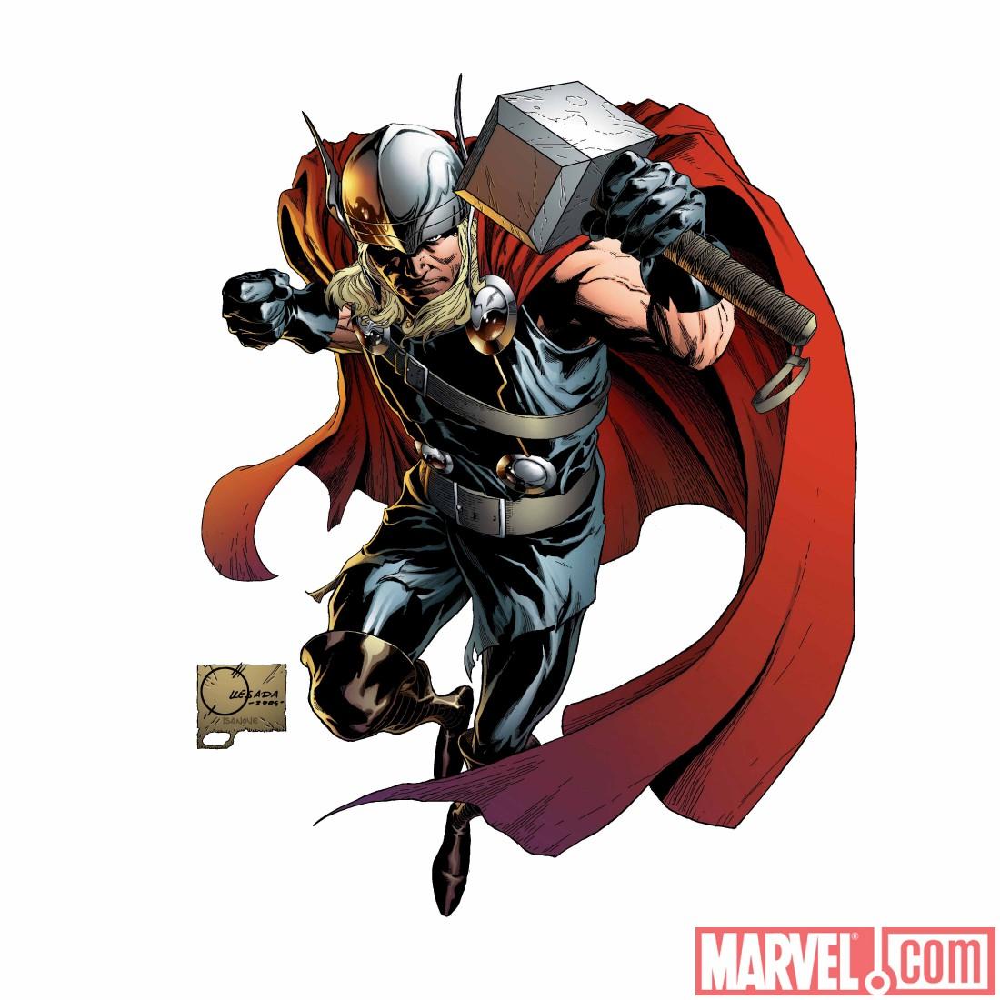 THOR_615_covQ New Look at Matt Fraction and Pasqual Ferry's THOR debut